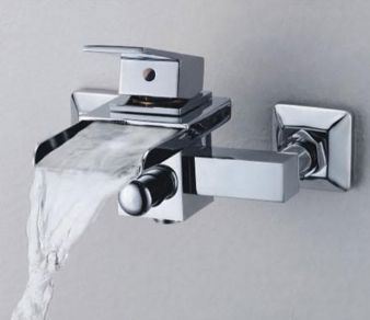 Single Lever Waterfall Bath Shower Mixer Tap